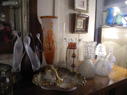 Vasi di cristallo e oggetti decorativi per la lista di nozze  Antico  Antico  Foto 2