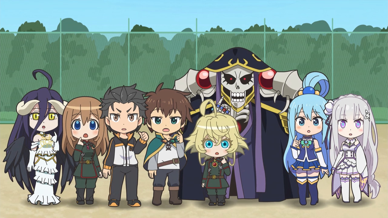 Isekai Quartet Episode 1 Subtitle Indonesia