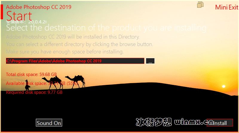 Adobe Photoshop CC 2019 (20.0.4.26077) 茶末余香增强版 X64
