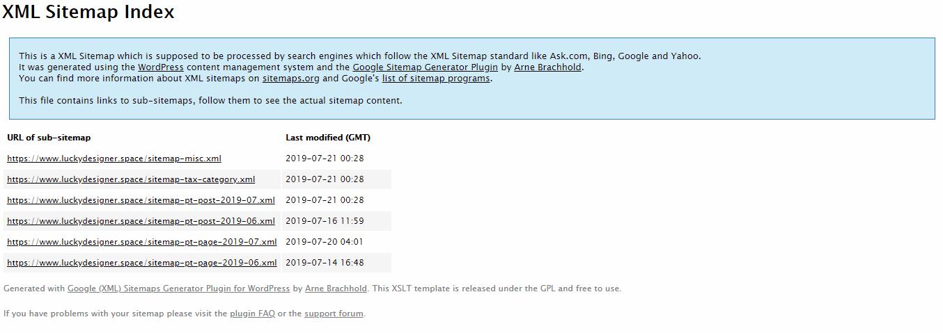 网站地图出现This page contains the following errors的问题及解决办法