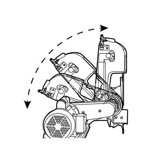 New BAILEIGH Two Wheel Belt Grinder BG-248-2 for Sale at