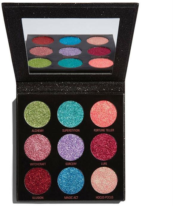 Palette de maquillage - Makeup Revolution Pressed Glitter Palette Abracadabra