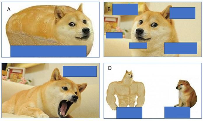 Doge meme templates
