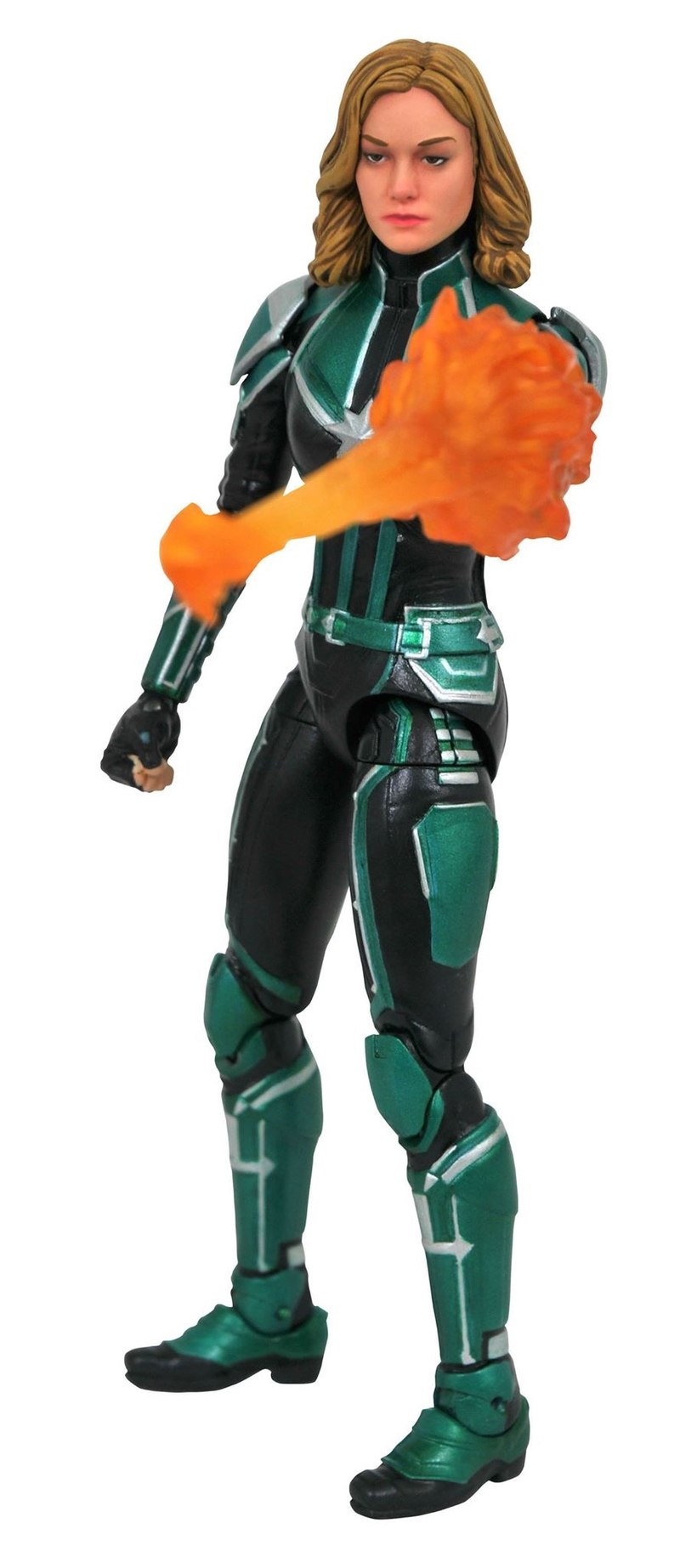 """marvel select 7"""" captain marvel movie captain marvel (starforce"""
