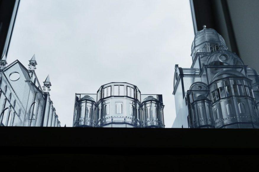 Šibenik Cathedral in transparent resin