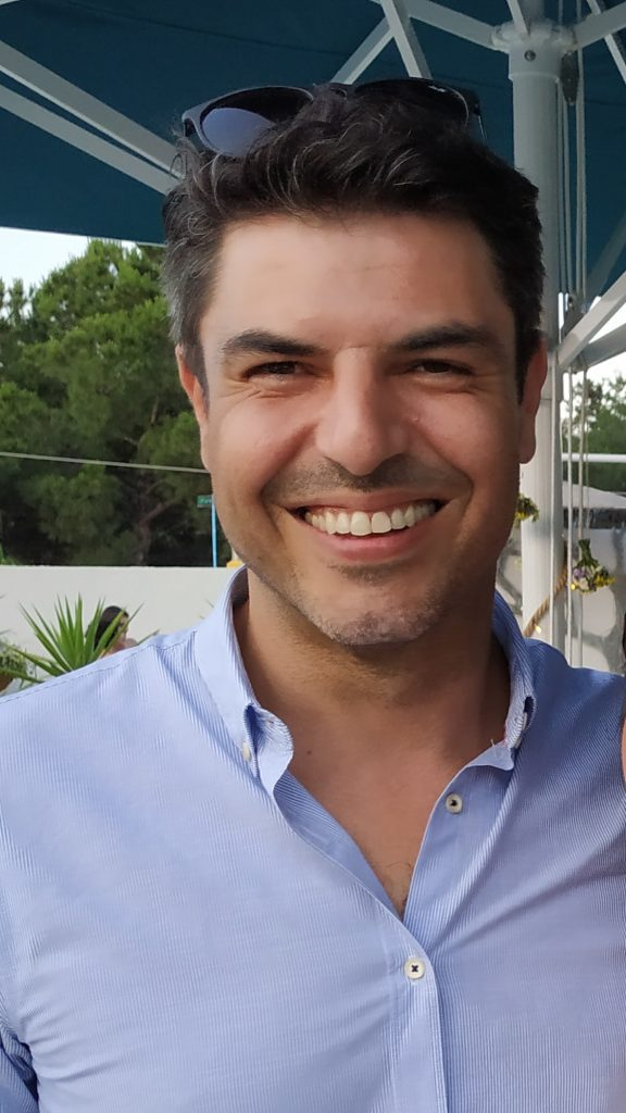 Maria Piana co-designer Constantino Papaconstantinou