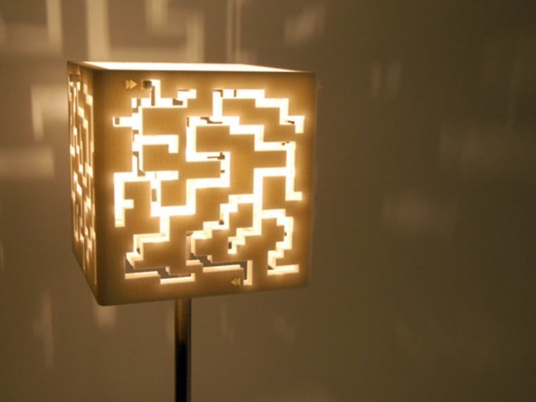 aMaze light  3D Printing Shop  imaterialise