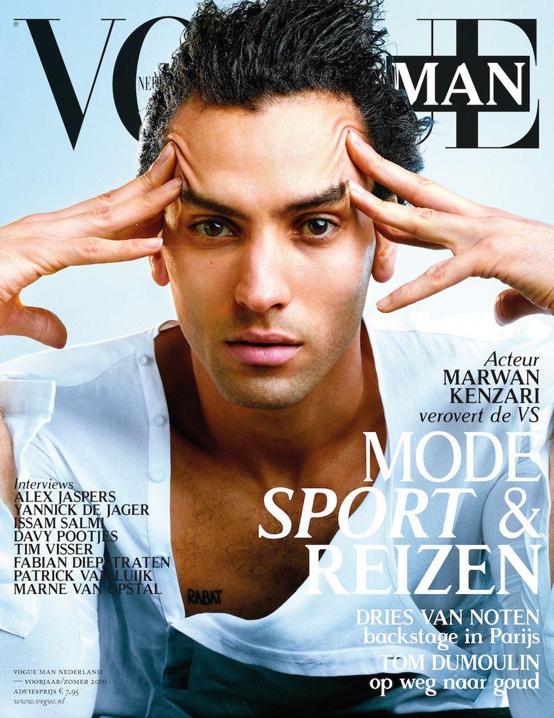 Vogue Netherlands Man SS 2016 Cover Vogue Netherlands Man