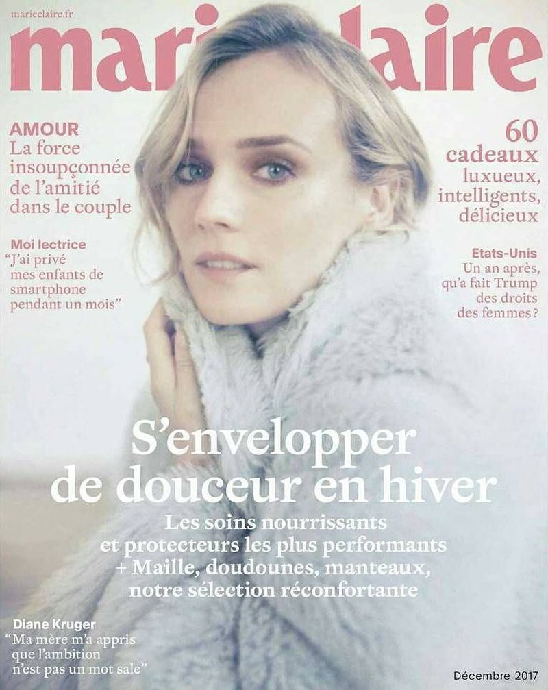 Ma Mere Et Moi On Fait L Amour : amour, Marie, Claire, France, December, Cover, (Marie, France)