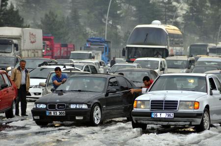 Ankara'da yağış alarmı