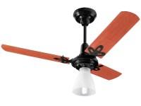 Ventilador de Teto Arge Economic Ventus 3 Ps Preto para 1 ...