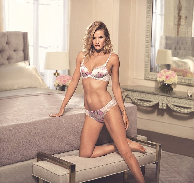 Rosie Huntington Whiteley Displays Her Body In New