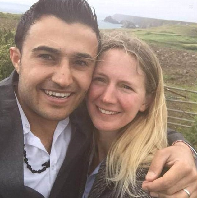 Sarah Gayton and Hamoude Kahlil got engaged a few months after meeting in the Calais refugee camp, in France