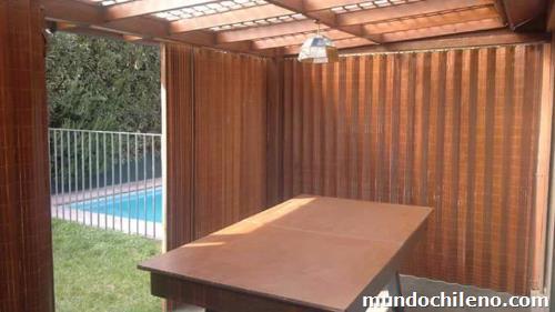 Hanga Roa Cortinas De Madera para proteger del Sol Fro