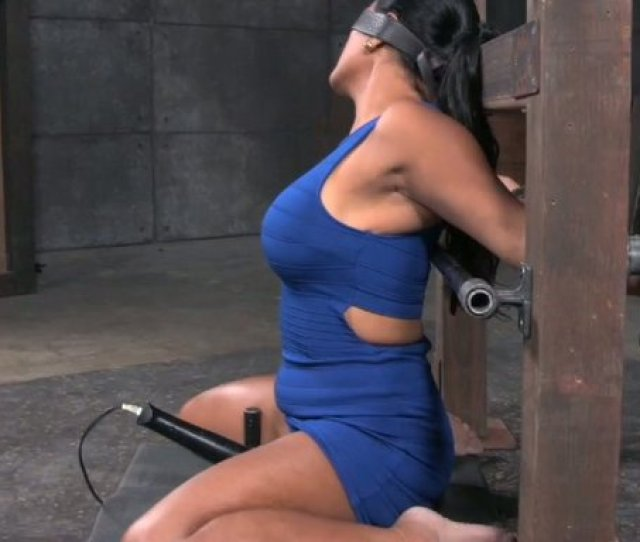 Tanned Sexy And Curvy Latina Milf Is Tied Up And Mouthfucked Hard Mylust Com