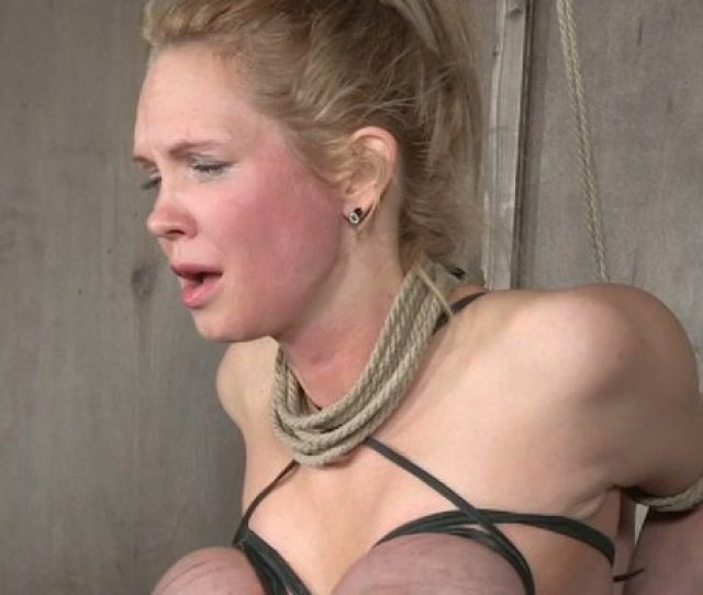 Breast Bondage Is What Submissive Busty Blond Head Has Nothing Against Mylust Com