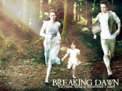 Twilight Breaking Dawn Edvard Bella & Renesmee Movies