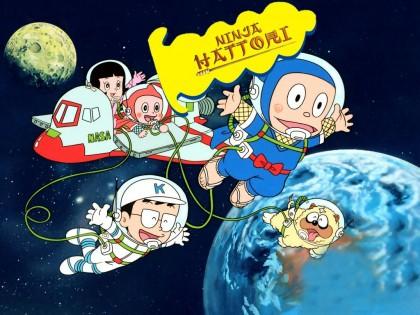 Glitter Wallpaper Hd Ninja Hattori Cartoons Myniceprofile Com