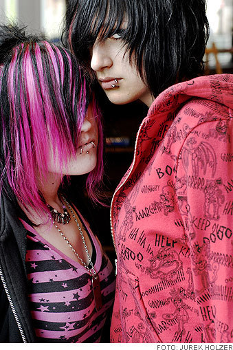 Girls Profile Wallpaper Stylish Emo Emo Myniceprofile Com