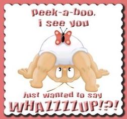 Peek A Boo I See You Hello
