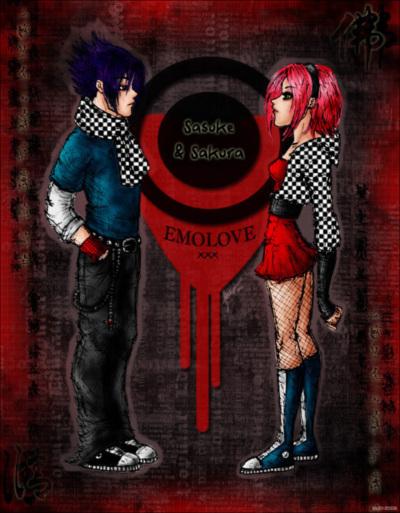 Sasuke And Sakura Emo Love Emo