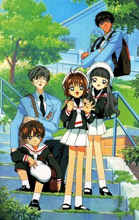 Touya Yukito Sakura Syaoran Anime