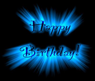 Happy Birthday Exploding Text Happy Birthday