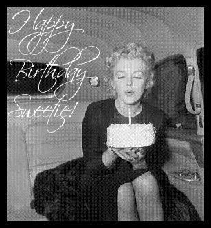 Happy B Day Sweetie Marilyn Happy Birthday