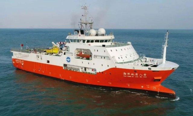 Haiyang Dizhi 8 in the South China Sea