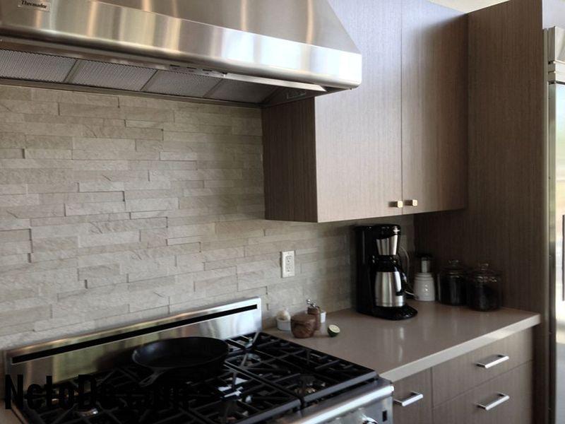 modern kitchen backsplash foam mats 在厨房的颜色 灰色是新的米色2018 todoinfor com 您家的最佳創意2018 04 of 07