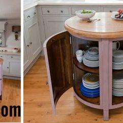Mobile Island Kitchen Sheers 小圆形 可移动的厨房岛 表2018 Mastodoc Com 關於房屋訂單設備的好想法 表