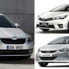 New Corolla Altis Vs Skoda Octavia Kekurangan Grand Veloz 1.3 Fight To The Finish Toyota Hyundai Elantra