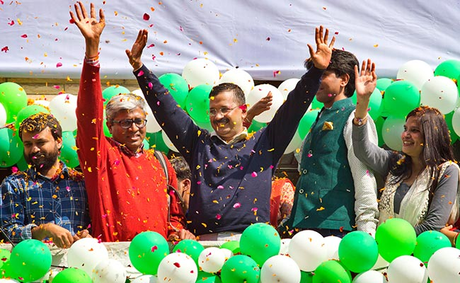 Delhi Election Result: Arvind Kejriwal's AAP Set for Dream Victory, BJP Flattened