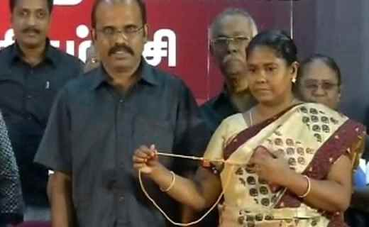 21 Women Remove Mangalsutras in Chennai Before Court Cancels Event