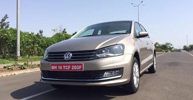 Volkswagen Vento facelift 2015