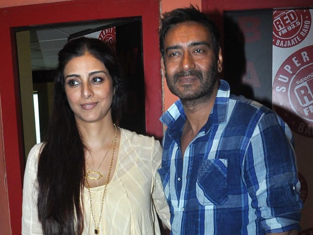 Image result for Ajay Devgn and Tabu