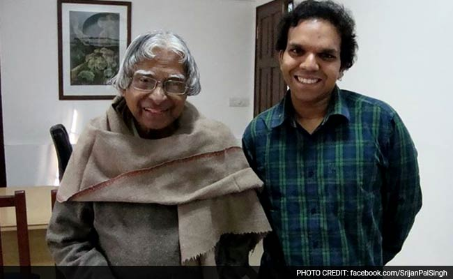 On Facebook, President APJ Abdul Kalam's Aide Recalls His Last Day