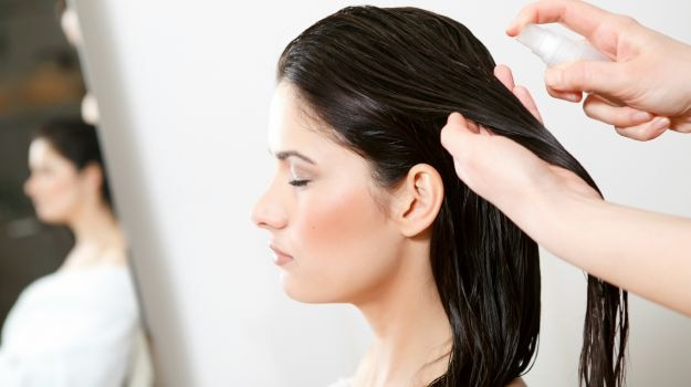 Pre-conditioning eases dryness in long hair