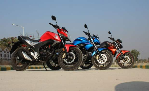Honda CB Hornet 160R Comparison Review