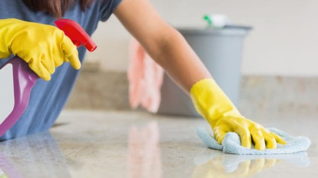 kitchen cleaning cabinets wall mounted how to clean your 7 natural ways ndtv food