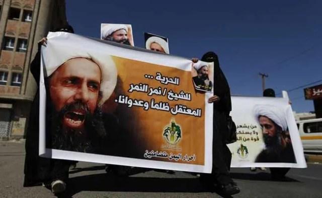 तेहरान में सऊदी दूतावास पर जबरदस्त प्रदर्शन, पेट्रोल बम फेंका गया : रिपोर्ट