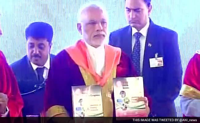पीएम नरेंद्र मोदी ने मैसूर में किया भारतीय विज्ञान कांग्रेस का उद्घाटन