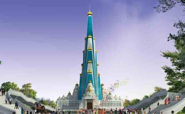 বৃন্দাবনে নির্মিত বিশ্বের বৃহত্তম হিন্দু মন্দির