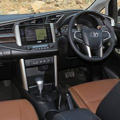 All New Kijang Innova 2.4 G At Diesel Tune Up Grand Avanza Toyota Crysta Launched Price Starts Rs 13 84 Lakh Dashboard