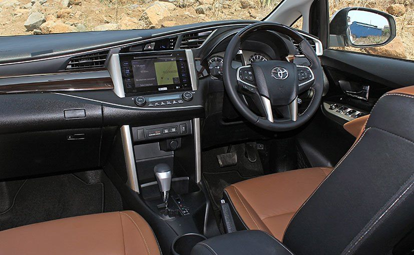 all new innova venturer diesel suspensi grand avanza keras toyota crysta launched price starts at rs 13 84 lakh dashboard