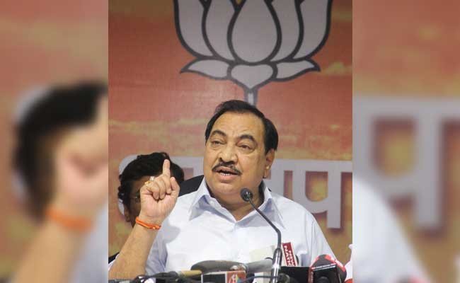 'Confident Eknath Khadse Will Not Resign': Maharashtra BJP Chief