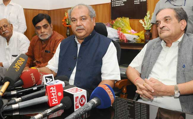 Union Agriculture Minister Interacts With Farmers In Srinagar