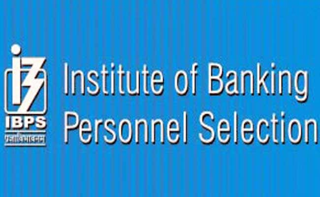 Banking Personnel Selection Body, IBPS, Announces Jobs For Engineers, Others