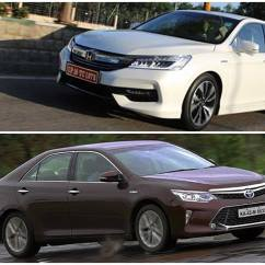 All New Camry Specs Grand Avanza Veloz 2016 Honda Accord Hybrid Vs Toyota Specifications And Features Comparison