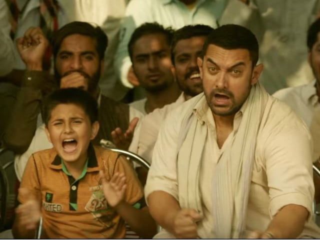 Dangals Dhaakad Poster Aamir Khan and Daughters Mean